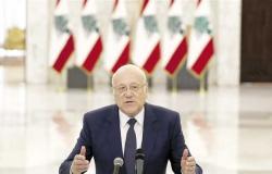 رئيس الوزراء اللبناني يطالب بمنع إسرائيل من التنقيب عن الغاز عند حدود بلاده