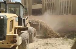 محافظة الفيوم: رفع 10 آلاف طن قمامة وإزالة 918 حالة إشغالات متنوعة