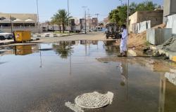 تسرب الشبكة يضاعف فواتير مياه نجران