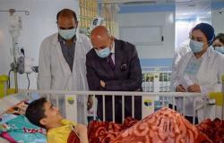 وكيل صحة الشرقية يتفقد الخدمات الطبية بمستشفى القنايات.. وتطعيم المواطنين بلقاح كورونا
