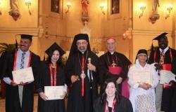 سفير الفاتيكان بمصر وبطريرك الكاثوليك يفتتحان العام الأكاديمي بكلية العلوم الدينية