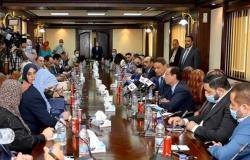رئيس الأعلى للإعلام لوفد أردني: السيسي والملك عبدالله يعملان على لم شمل العرب