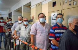 إقبال كبير علي مراكز تطعيم لقاح كورونا في الشرقية