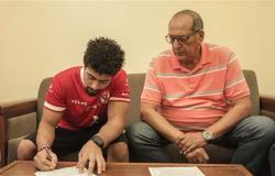 الأهلي يتعاقد مع عمر العربي لتدعيم فريق الجمباز