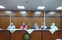«دراسات إسلامية الإسكندرية» تعقد اجتماعاً لمناقشة استراتيجية التقدم للاعتماد البرامجي (صور)