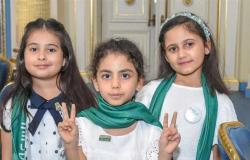 بـ«شارة النصر».. القنصلية السعودية في الإسكندرية تحتفل باليوم الوطنى الـ91 (صور)