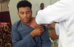 تطعيم العاملين بمجلس مدينة الأقصر بالجرعة الثانية من لقاح فيروس كورونا