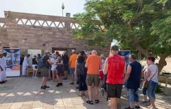 منطقة آثار أبوسمبل تحتفل بيوم السياحة العالمي