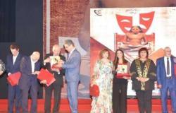 وزيرة الثقافة تكرم أشرف عبدالغفور واسمي عبدالله غيث وسمير غانم (صور)