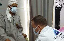 الكشف وتوفير العلاج لـ 1600 مواطناُ في قافلة لوزارة الصحة بقرية ميانة ببنى سويف