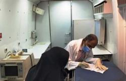 الكشف الطبي على 2678 مواطنا في أسوان