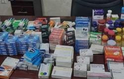 ضبط كميات من الأدوية المهربة والمدرجة بجداول المخدرات داخل مخزن مخالف بالقاهرة