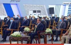 السيسي :حجم الخسائر المباشرة التي تكبدتها الدولة المصرية في 2011 بلغ 400 مليار دولار