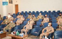 """انطلاق مناورات التمرين البحري """"المدافع الأزرق - 21"""" بين القوات البحرية السعودية والأمريكية"""