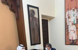 """شاهد.. السفير """"الغريري"""" يلتقي رئيس الحكومة المغربية ويُسلِّمه """"المبادرة السعودية"""""""
