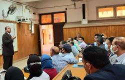 كلية التكنولوجيا والتعليم بجامعة حلوان تنظم حفلة لطلاب الدفعة الرابعة لبرنامج تأهيل المعلمين
