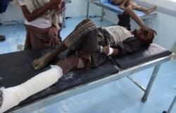 إصابة مواطن في انفجار لغم حوثي وتدمير سيارته غربي اليمن