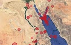 وقع في الساعة 7 والنصف وقوته 6.2 ريختر..تفاصيل الزلزال الذي شعر به سكان القاهرة