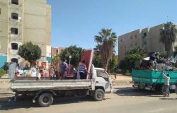نقل سكان عمارات «أمانكو» بـ6 أكتوبر إلى مساكن أبو الوفا عقب تصدع عقار بسبب الزلزال