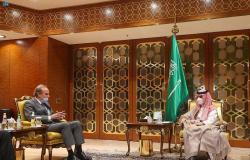 وزير الخارجية يلتقي منسق الاتحاد الأوروبي ويبحثان مستجدات البرنامج النووي الإيراني