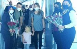 مطار الغردقة يستقبل أول رحلة من فيينا عبر الخطوط النمساوية بعد توقفها منذ كورونا