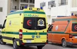 إصابة 3 أشخاص في حوادث طرق بالمنيا