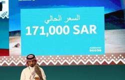 بيع صقرين بـ228 ألف ريال في الليلة الـ16 لمزاد نادي الصقور السعودي الثاني