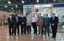وزير الطيران يتفقد مطار الأقصر الدولي قبل انطلاق الموسم الشتوي