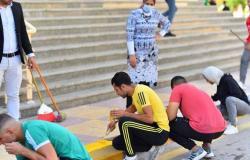 طلاب التربية الرياضية بكفر الشيخ يشاركون في الأسبوع البيئي