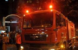 انتداب المعمل الجنائي لكشف أسباب حريق شقة العمرانية