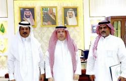 محافظ أضم يلتقي مدير البيئة بالمحافظة المعين حديثًا