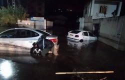 الفيضانات تجتاح الجزائر.. والحماية المدنية تواصل البحث عن شخص مفقود