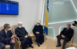 أول زيارة رسمية.. المفتي يبدأ زيارة للبوسنة والهرسك لتعزيز التعاون
