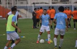 بلحه و عبد القادر يقودان هجومغزل المحلة أمام المصري