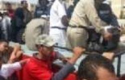 """مشيعو جنازة أمين الشرطة بالبحيرة: """"يسقط حكم المرشد"""""""