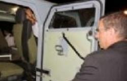 """""""الداخلية"""" تدعم مديرية أمن البحر الأحمر بسيارة مدرعة ضد الطلقات"""