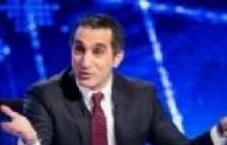 """باسم يوسف يبدأ حلقة """"البرنامج"""" في الظلام"""