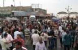 """أهالي """"الإمام مالك"""" يفتحون الطريق الصحراوي بعد قطعه 4 ساعات"""