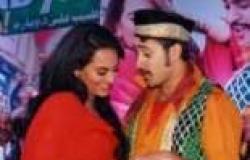 بالصور| سوناكشي سينها وعمران خان يروجان لفيلمهما الجديد في مومباي