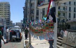 بالصور.. فوانيس ثورة 30 يونيو تملأ ميدان القائد إبراهيم