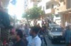 مسيرة حاشدة من ميت الشيوخ تصل ميدان الساعة في دمياط وسط تأمين قوات مكافحة الإرهاب