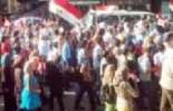 مسيرة للأطباء والعاملين بالتأمين الصحي في الغربية لدعم ثورة 30 يونيو