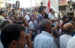 أهالى المنشية يطردون مسيرة لمؤيدى المعزول ويمنعونها من المرور بمنطقتهم