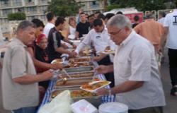 """""""تمرد"""" تقيم إفطاراً جماعياً لـ""""لم الشمل"""" بخليج نعمة بمشاركة القوى السياسية"""