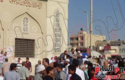 بالصور.. تشييع أحد شهداء الإرهاب المدنيين بسيناء