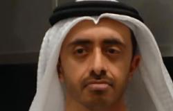 وزير الخارجية الإماراتى يبحث فى اتصال هاتفى مع رئيس الحكمة الليبية الهجوم على سفارة الدولة