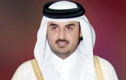 أمير قطر يستقبل رئيس الائتلاف السورى لقوى المعارضة