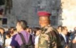 بالصور| برشلونه يزور كنيسة المهد ويلتقي الرئيس الفلسطيني