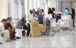19 ألف معتمر غادروا مطار الملك عبد العزيز على متن 102 رحلة