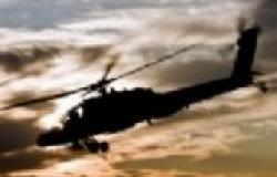 """""""سي بي سي"""" تعرض فيديو لآثار إطلاق نار على هليكوبتر الجيش"""